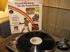 Ali & His gang vs. Mr. Tooth Decay (Bills Box of Sound) Tags: records vinyl muhammadali vinyljunkie