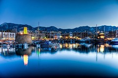 Girne in blue hour,North Cyprus (Nejdet Duzen) Tags: trip travel night nightshot harbour bluehour liman gece girne northcyprus kyrenia kbrs seyahat kktc kuzeykbrstrkcumhuriyeti geceekimi saariysqualitypictures mavisaat mygearandme flickrsportal