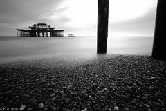 The West Pier (92/365) (~Kyla~) Tags: longexposure west pier brighton 952 92365 52weeksofnocolour