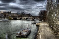 Scene of the Seine (Marc Collins) Tags: paris france hdr riverseine