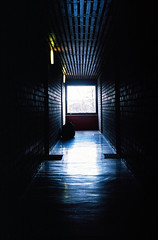Light at the End (Gavin Craigie) Tags: light bag corridor tunnel bin end