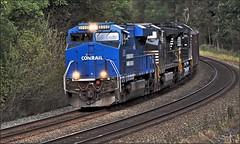511 (Images by A.J.) Tags: train railroad railway rail freight ns norfolk southern heritage ge gevo es44ac conrail coal hopper pa pittsburgh greensburg pennsylvania transportation