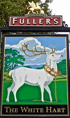 The White Hart - Harlington, Greater London. (garstonian11) Tags: london greaterlondon harlingen pubsigns pubs gbg2017 camra