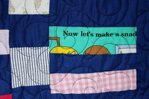 memory quilt, quilt from recycled fabrics, recycled clothing quilt, mamaka mills, alix joyal 2