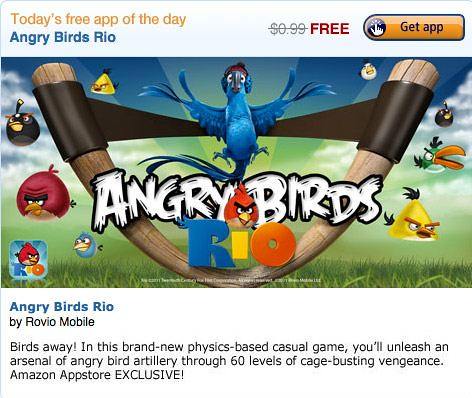 Angry Birds App for Android