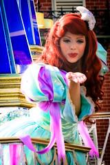 Ariel (abelle2) Tags: ariel princess disney parade disneyworld wdw waltdisneyworld magickingdom disneyprincess thelittlemermaid disneyparade princessariel celebrateadreamcometrueparade