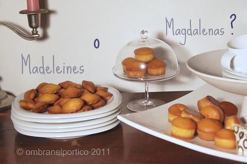 Madeleines o Magdalenas?