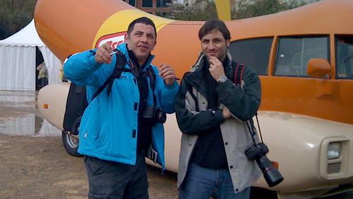Luis Caldevilla y Nacho en Valencia