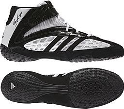 adidas Vaporspeed III White Black iwrestling shoes