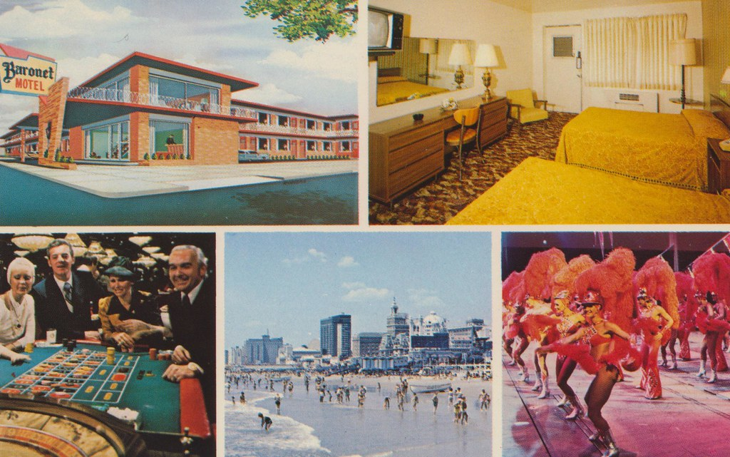 Baronet Motel - Atlantic City, New Jersey