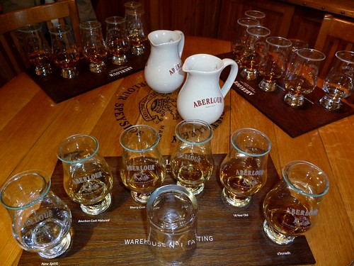 Whisky Tasting at Aberlour