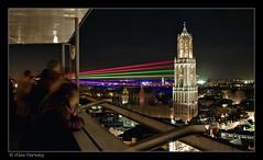 Sol Lumen  - Utrecht (Alex Verweij) Tags: canon nacht 7d universiteit 1022mm dedom kleuren universiteitutrecht timeshot deuithof tijdopname nachtopname alexverweij laserstralen sollumen 7kleuren 375jarig