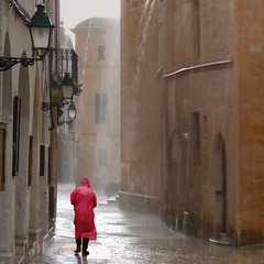 Rainy day in old and beautiful Ciutadella (Bn) Tags: city pink water rain architecture port geotagged lights islands harbor spain alley downtown mediterranean day market centre gothic churches topf300 tapas attractive raindrops restoration charming baroque heavy raining raincoat picturesque oldtown topf200 streaming menorca alleys ciutadella minorca rainydays balearic oldquarter gutters topf400 rainyweather townwalls ciutadellademenorca whitewashedwalls 200faves narrowlanes 300faves formercapital theoldandthebeautiful 400faves theheartoftown regionwide womensouterwear geomenorca geo:lon=3838493 geo:lat=40002045 picturesquenaturalport theformercapital vellaibella