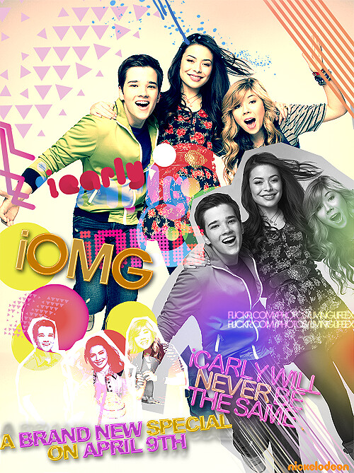 iCARLY - Promotional Poster - iOMG!