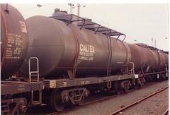 VTQF 207 H Tottenham 7/1995 (booksvic) Tags: tank railway vr wagons vline
