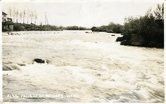 [IDAHO-B-0021] Snake River - St. Anthony (waterarchives) Tags: river falls idaho snakeriver stanthony realphotopostcardrppc