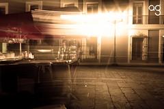 (Stromboly) Tags: light people mxico night luces noche oaxaca nocturna hotdogs largaexposicin barrido puesto