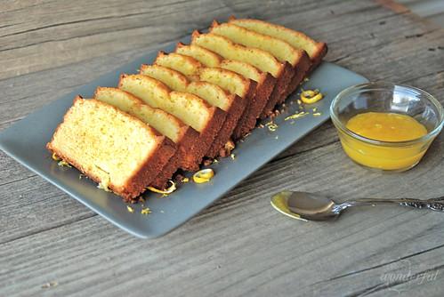 Lemon Curd & Lemon Pound Cake 2