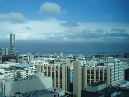 View from the Intercontinental, San Francisco, March 2011 by suzipaw