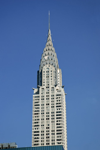NYC - Chrysler Building by GlobeTrotter 2000
