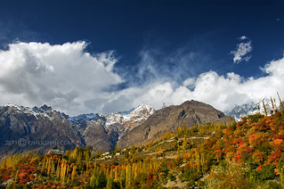 Autumn in Karimabad Hunza Valley