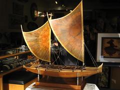 The Lapita Project (hawaiiancanoes) Tags: boat wooden catamaran sail multihull outrigger woodenboats hokulea vaka shipmodel tikopia lapita anuta hawaiiancanoe pacificvoyagers