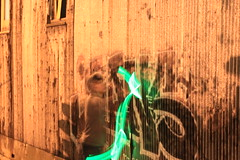 Graffiti and Light Painting 08 (s.s.minnow) Tags: light lightpainting green graffiti dwcfflightpaint