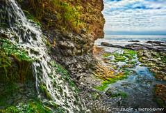 Plan B: Shell Beach (Silent G Photography) Tags: california ca waterfall surf surfer pacificocean f22 tidepools hdr sanluisobispo shellbeach cliffsresort highdynamicrangephotography nikond7000 nikkor1635mmf4 markgvazdinskas silentgphotography