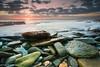 Avalon Beach (-yury-) Tags: ocean sea sky seascape beach water clouds sunrise landscape rocks sydney australia nsw avalon ultimateshot yuryprokopenko
