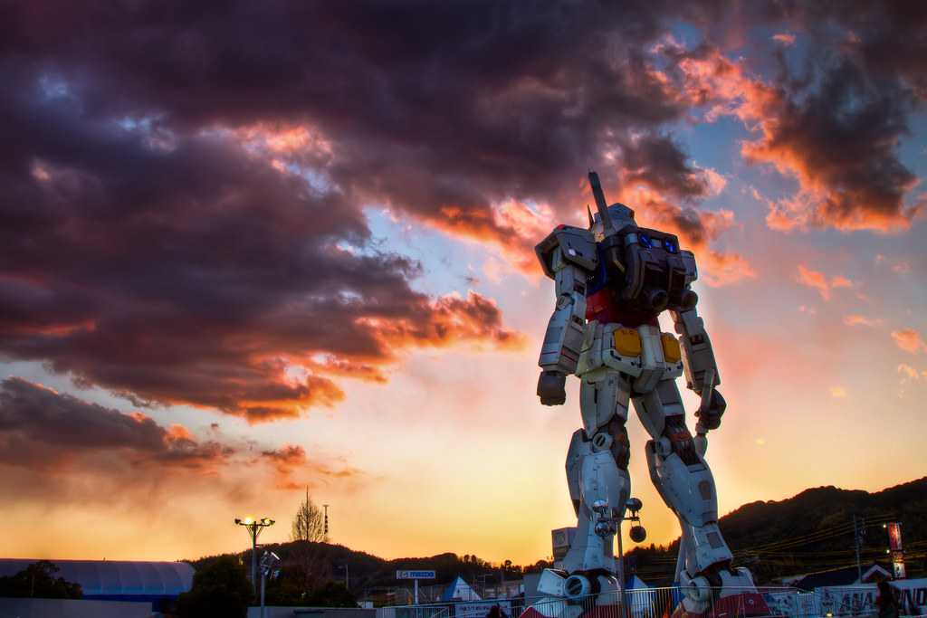 Gundam Sunset