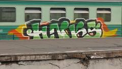 Yo my crew (Ekap1) Tags: graffiti moscow hunks hnk ekap hunkers hnks ekap1