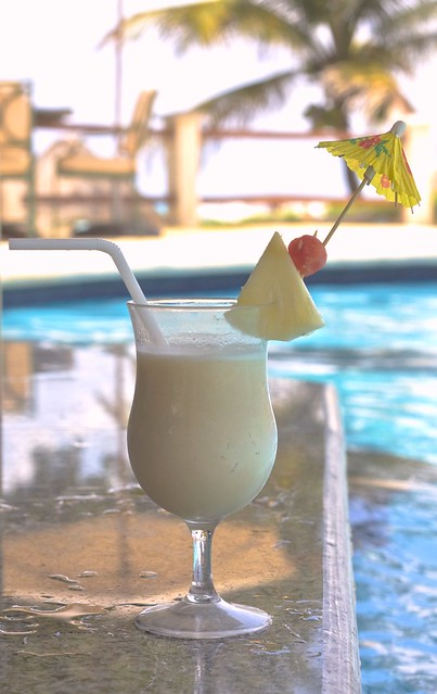 Poolside Piña Colada? Yes, please!