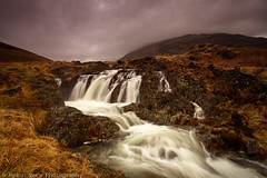Mossdale Beck Falls (.Brian Kerr Photography.) Tags: sky clouds canon landscape waterfall nationalpark beck lakes lakedistrict pass falls cumbria wrynosepass hardknottpass eos5dmkii briankerrphotography mossdalebeckfalls