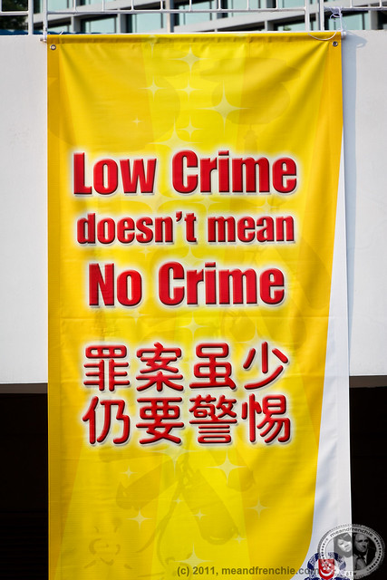 Low Crime Doesn't Mean No Crime