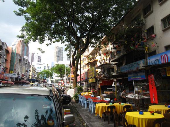 Street Dining in Kuala Lumpur