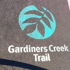 Gardiners Creek Trail -- #30daysofbiking