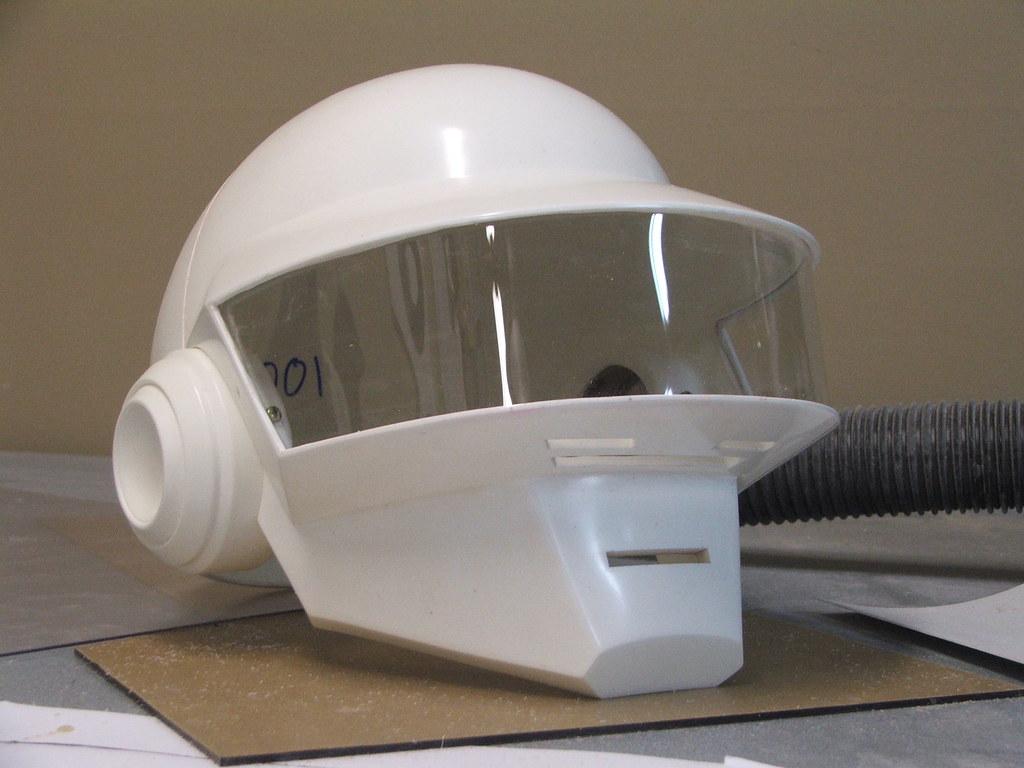 how to build a daft punk helmet