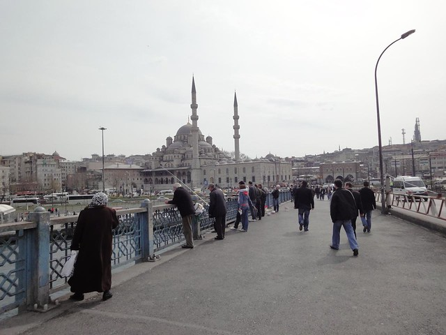 Ponte Galata em Istambul
