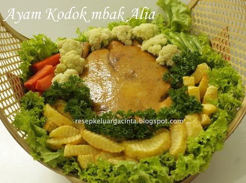 Ayam Kodok mbak Alia