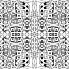 Psychedelic Deco Pattern-