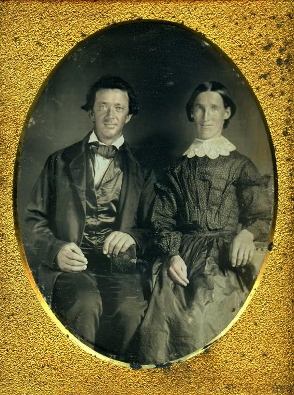 Restored daguerreotype