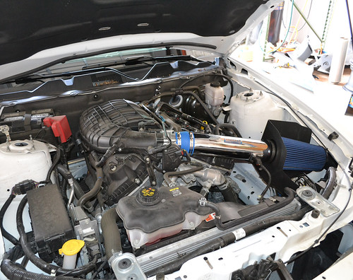 V6 Mustang Cold Air Intake Installation How-To - LMR
