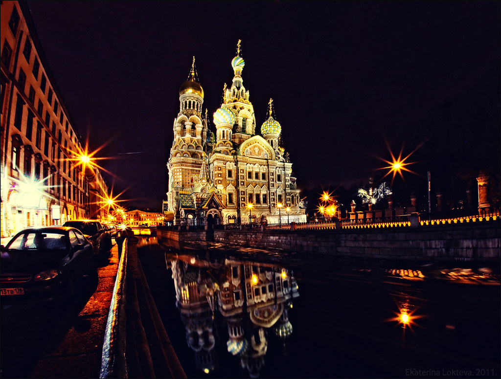 Church of the Savior on Blood in Sankt-Petersburg