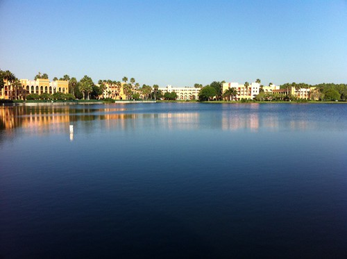lagoon morning walk