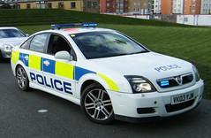 Police Vauxhall Vectra