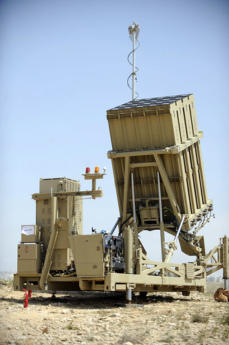 Iron Dome Battery Deployed Near Ashkelon