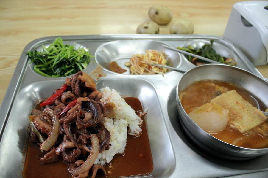 Jukkumi(Octopus ocellatus) lunch