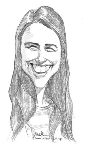 caricature in pencil - 19