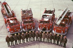 LAFD Heavy Duty Task Force 9 July 1973 @ Drill Tower 40