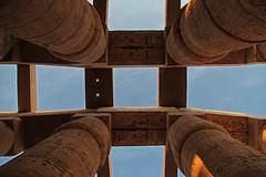 Karnak Temple (Egypt) (Kaptah) Tags: africa heritage monument canon temple eos humanity monumento religion egypt unesco egyptian 5d column egipto karnak luxor ramses templo markii columna humanidad patrimonio egipcio frica religin hypostyle hipstila tebas  ipetsut mygearandme